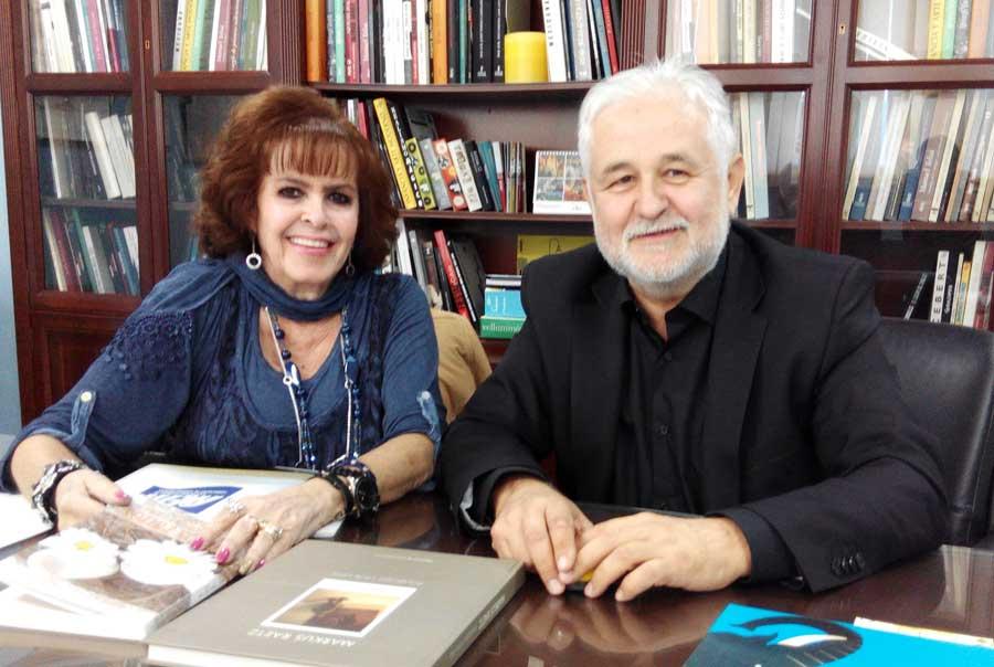 Marichu Fernández y Juan Díaz