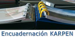 Sistemas de encuadernación Karpen