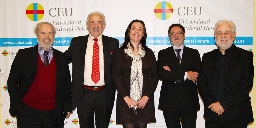 Presentación de Guerreros en el CEU
