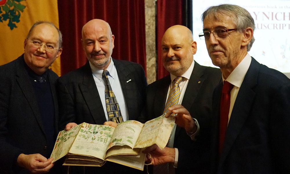 Presentación del Códice Voynich